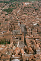 Ferrara, veduta aerea
