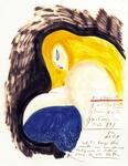 Immagine tratta dalla mostra 'Fellini. Dall'Italia alla luna' (Museo d'arte moderna di Bologna)