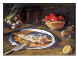 Dipinto I mangiari dipinti