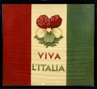 Faenza, Museo del risorgimento e dell'età contemporanea, bandiera tricolore (1861)