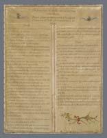 Dichiarazione dei Diritti dei Cittadini della Repubblica Cisalpina. Bagnacavallo, Museo Civico delle Cappuccine