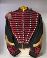 Uniforme, giubba da ufficiale del reggimento degli Ussari di Piacenza appartenuta a Luigi Baldi, Faenza, Museo del Risorgimento e dell'Età contemporanea