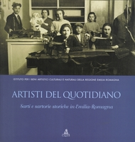 Copertina del volume 'Artisti del quotidiano. Sarti e sartorie storiche in Emilia-Romagna'