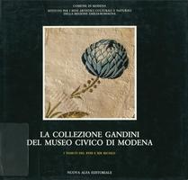 Copertina del volume 'La Collezione Gandini del Museo civico di Modena. I tessuti del XVIII e XIX secolo'