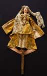 Cortigiana, burattetta della famiglia Stignani, sec. XIX, Santarcangelo di Romagna, MET - Museo degli Usi e Costumi della Gente di Romagna