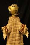 """Personaggio della """"Pace"""" di Aristofane, marionetta di Otello Sarzi, sec. XX, Museo dei Burattini - Fondazione Famiglia Sarzi, Bagnolo/Reggio Emilia"""