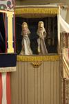 Baracca russa con burattini, sec. XX, Cervia, Museo B&F - Museo dei burattini e delle Figure