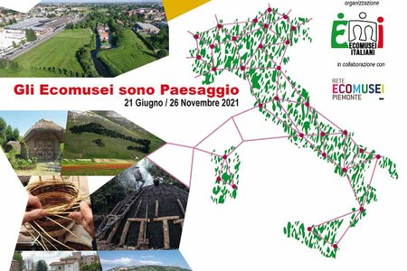 Dal 21 al 25 giugno la Settimana del Paesaggio degli Ecomusei italiani