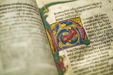 Tesori danteschi a Piacenza: il Landiano 190, frammenti, incunaboli e cinquecentine