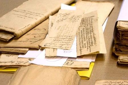 Inventariazioni in corso negli archivi