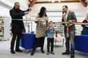 Immagini dall'inaugurazione della biblioteca