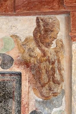 La loggia aperta al primo piano della Rocca (Foto A.Scardova)