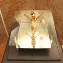 Il crocifisso restaurato nella teca Foto C. Ferlauto IBC