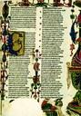 Ravenna, Biblioteca Classense, inc. 437, Vita di Dante, 1477, c. 2a2r (scheda 16)