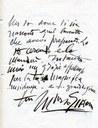 Lettera a Zavattini del pittore Mario Sironi