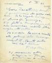 Lettera a Zavattini del pittore Filippo de Pisis