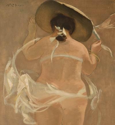 Immagini dalla mostra: Federico Moroni pittore. (foto C. Ferlauto IBC)