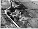 Aerea Pomposa con vista della valle Giralda, ca. 1955