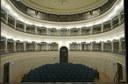 Russi di Romagna (RA), Teatro Comunale la sala teatrale vista dal palcoscenico