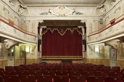 Sant'Agata Bolognese (BO), Teatro Comunale F. Bibiena, la sala teatrale