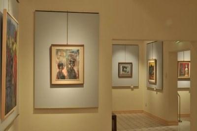 I maestri dell'arte italiana a Villa Franceschi Aldo Borgonzoni. Testimone del tempo Riccione, galleria comunale d'arte moderna e contemporanea