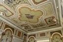 Crevalcore, (BO), Teatro Comunale, particolare della decorazione del foyer