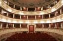 Pieve di Cento (BO), Teatro Alice Zeppilli, la sala teatrale vista dal palcoscenico