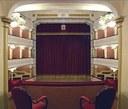San Felice sul Panaro (MO), Teatro Comunale, la sala vista dal palco centrale