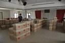 La sala polivalente che ospiterà la biblioteca. Foto di A. Scardova