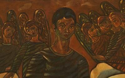 Immagini dalla mostra: Annibale Luigi Bergamini (1921-1992). Patire e dipingere: le visioni nel sacro. Foto Costantino Ferlauto, IBC