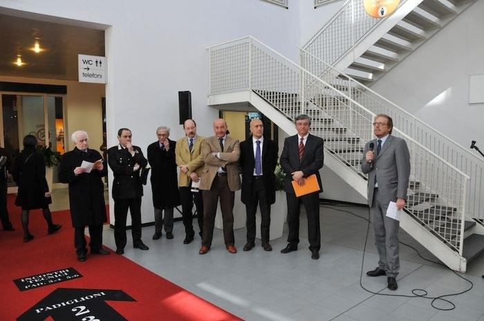 Inaugurazione del Salone del Restauro 2009