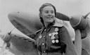 Marina Ivanovna Dolina, decorata eroe dell'Unione Sovietica a seguito delle 72 missioni di guerra durante il secondo conflitto mondiale