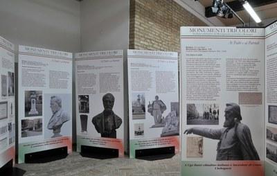Monumenti Tricolori. La mostra