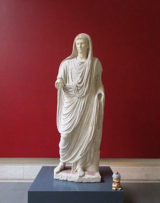 Il piccolo Maximus e il grande imperatore Augusto