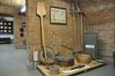 Museo dell'agricoltura e del mondo rurale Strumenti per la produzione di latticini (foto F. Dell'Aquila)