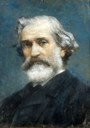 Museo di casa Barezzi Francesco Paolo Michetti, Ritratto di Verdi