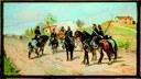 Galleria d'Arte Moderna Ricci Oddi Giovanni Fattori, Sosta di cavalleria, 1861-64