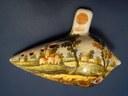 Museo dell'ocarina Esemplare di ocarina dipinta