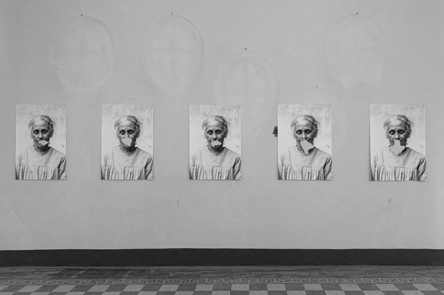 Garaffoni-Ambroni-Rossi, Cassandra. Il diritto di parlare, ottobre 2020, quadro