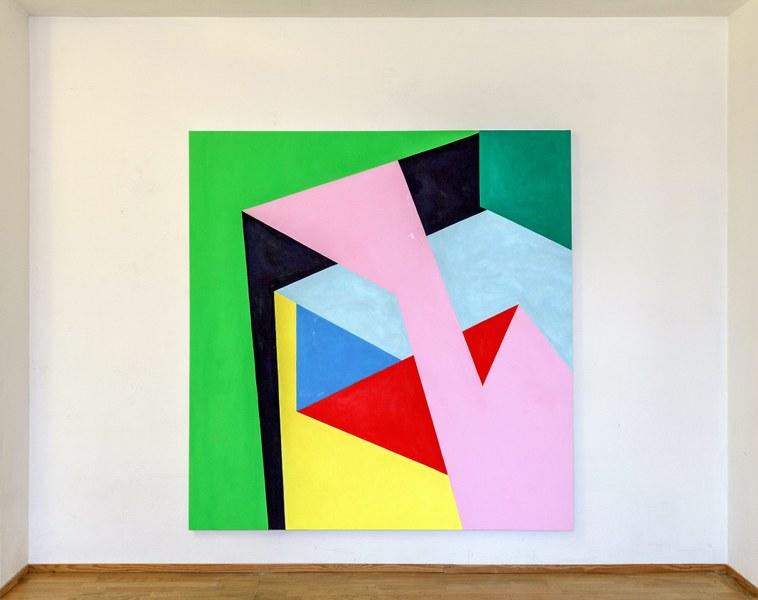 Nicola Melinelli, Senza Titolo, 201, olio su tela