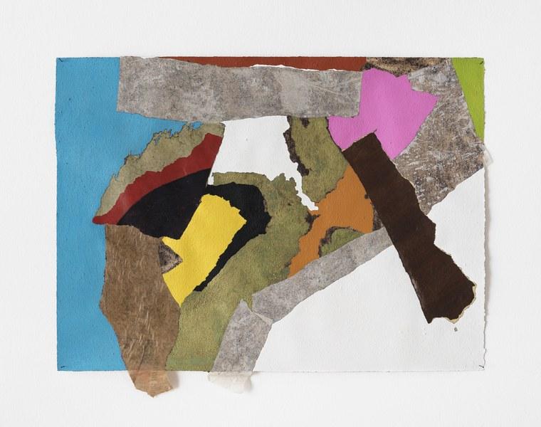Francis Offman, Senza titolo_Untitled, 2018, acrilico