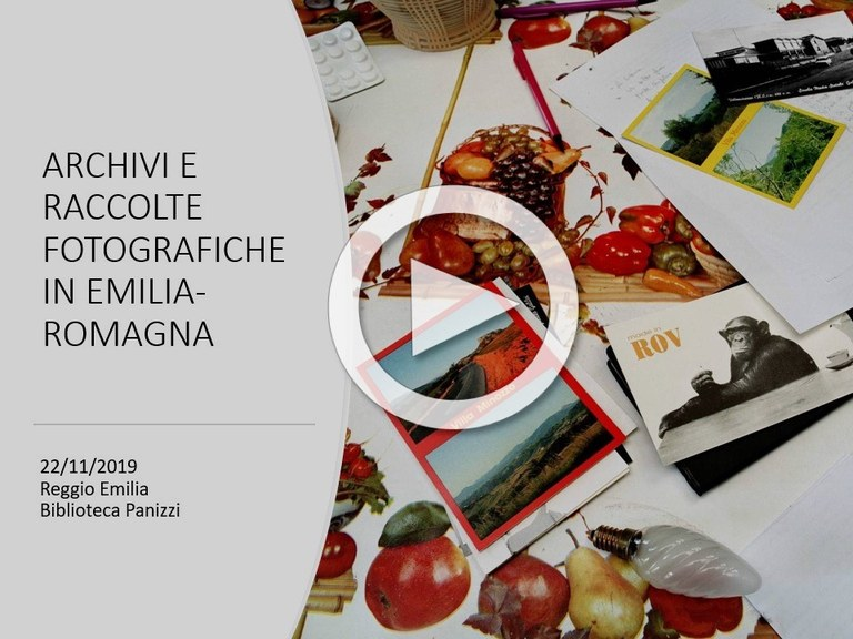 video: Archivi e raccolte fotografiche in Emilia-Romagna